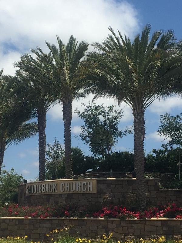 Phoenix dactylifera Saddleback Church Install Palms